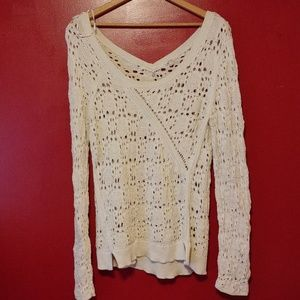 Sweaters - SCOOP NECK  PULLOVER SWEATER(871)